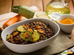 Insalata di lenticchie nere: un contorno ricco e leggero