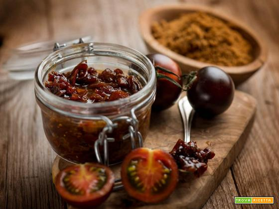 Confettura di pomodorini Yoom per una merenda diversa