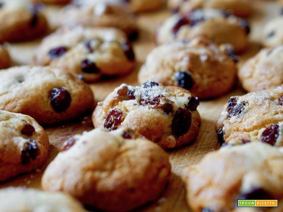 Biscotti alle Noci e Uvetta