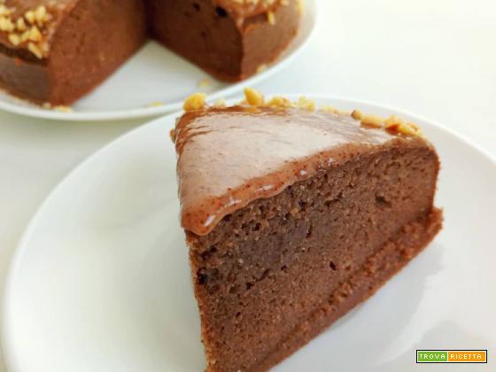 Torta alle Nocciole Senza Glutine e Senza Zucchero