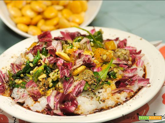 Congee d'autunno con lupini, zucca, senza glutine