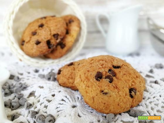 Cookies alla zucca e mandorle