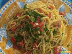 Spaghetti alla granceola