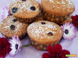 Muffin uva nera e cannella