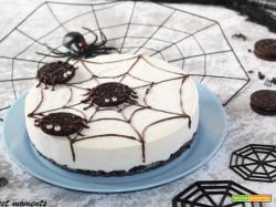 Spider cheesecake oreo |senza cottura