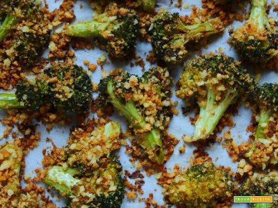 Broccoli croccanti al forno