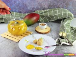 Marmellata di mango senza zucchero di Luca Montersino