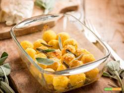 Gnocchetti di polenta e gorgonzola, un primo rustico