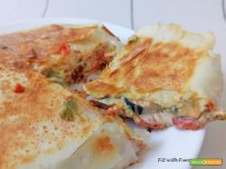 Pizza Fillo Ripiena in Padella Proteica e Light
