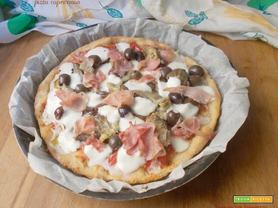Pizza capricciosa – lievito madre