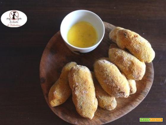 Crocchette di zucca e ceci, senza uova e glutine, cotte in friggitrice ad aria