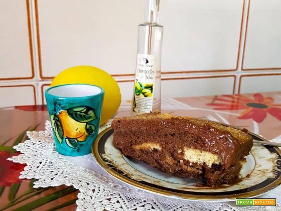 Semifreddo al cioccolato e savoiardi senza glutine e lattosio