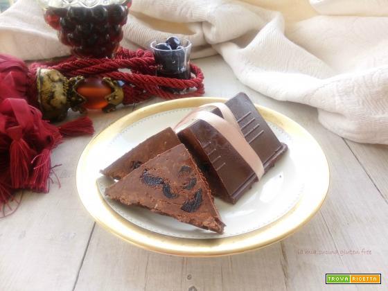 Torrone cioccolato e amarene