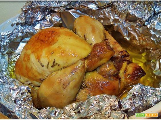 Pollo umido al cartoccio
