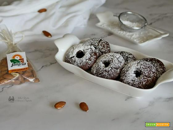 Ciambelline mandorle e cioccolato