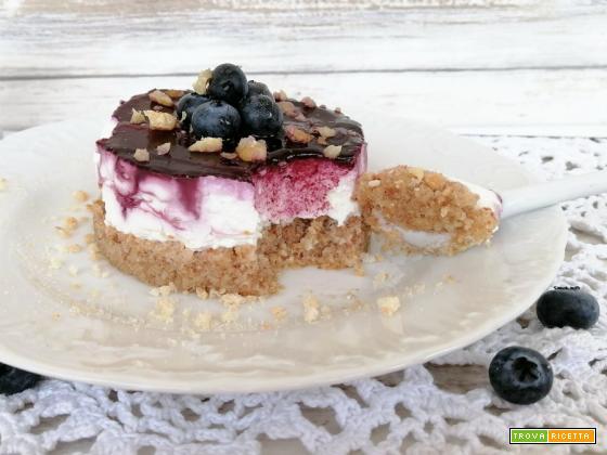 Mini chees cake fit allo yogurt greco