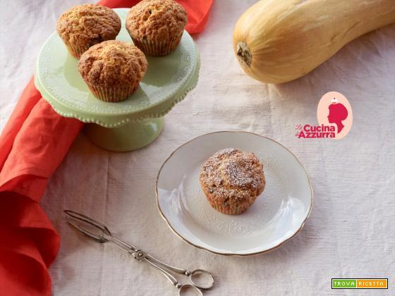 Muffins alla Zucca e Gocce di Cioccolato