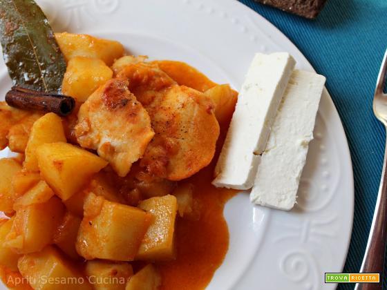 Merluzzo o baccalà in umido con patate