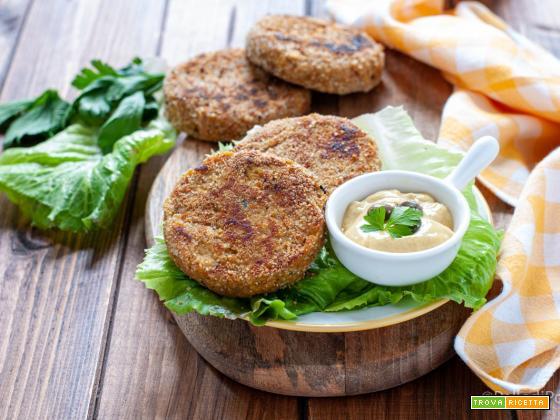 Burger di tonno
