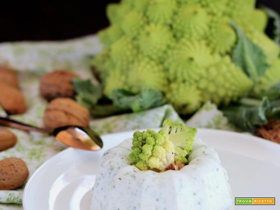 Panna Cotta al Broccolo Romanesco