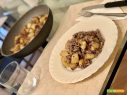 Padellata di salsiccia e patate