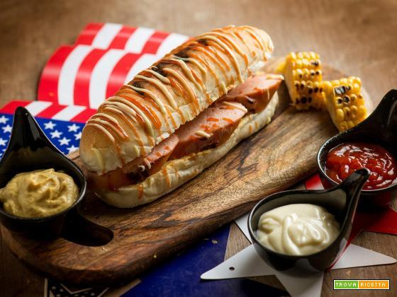 Un hot dog speciale per il Giorno del Ringraziamento