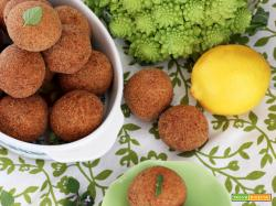 Polpette di Broccolo romanesco e Limone glutenfree