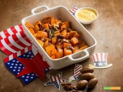 Patate dolci al forno, un contorno salutare