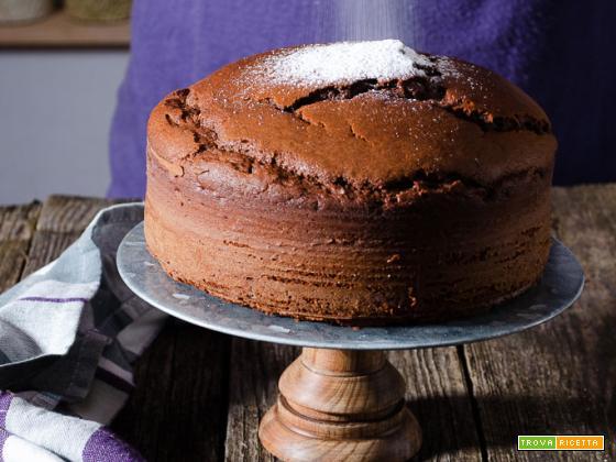 Torta al cioccolato con burro di arachidi