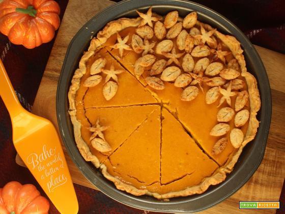 Pumpkin Pie: l'originale torta di zucca americana