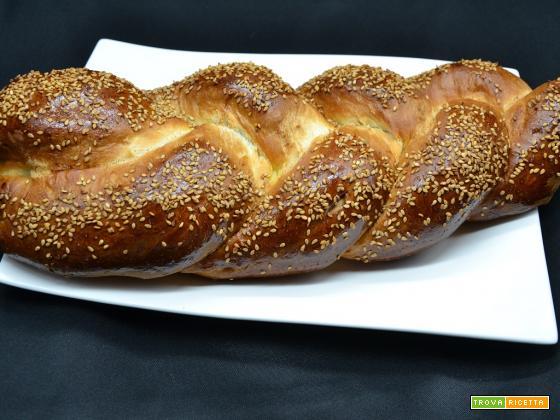 Ricetta – Treccia di pane ripiena