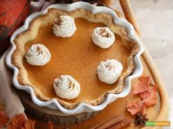 Pumpkin Pie: la Torta di Zucca del Ringraziamento