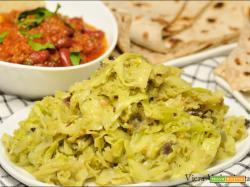 Contorno indiano – Cavolo Thoran Kerala senza glutine