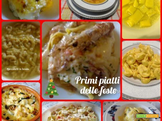 Primi piatti delle feste