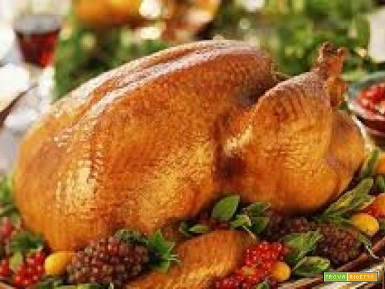 Tacchino ripieno del Giorno del Ringraziamento