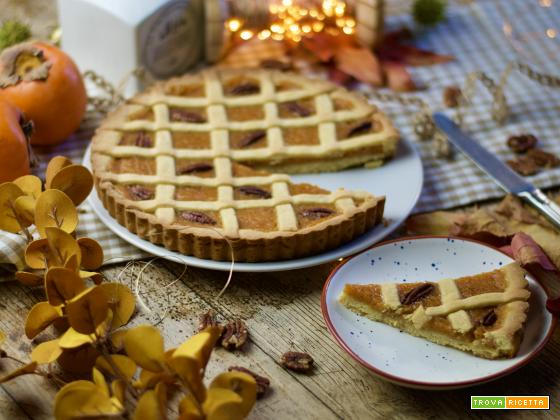 Crostata ai cachi, il dolce del Thanksgiving