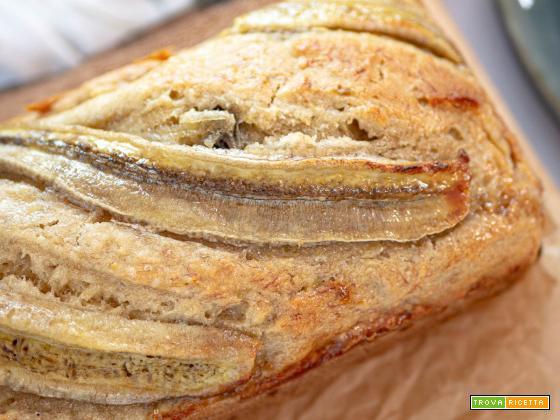 Banana Bread vegano ricetta classica facilissima
