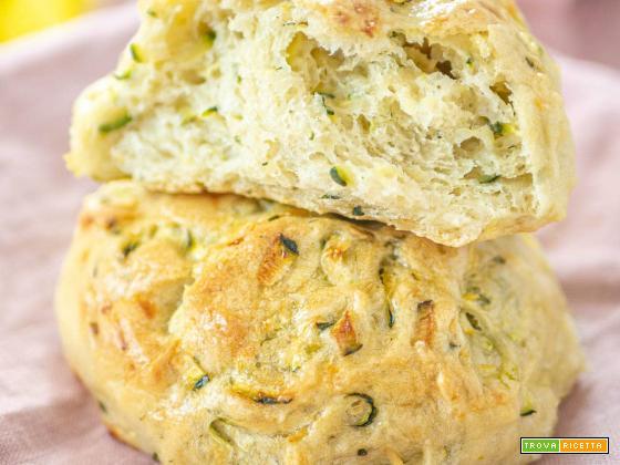 Panini alle zucchine - Ricetta facile e vegana