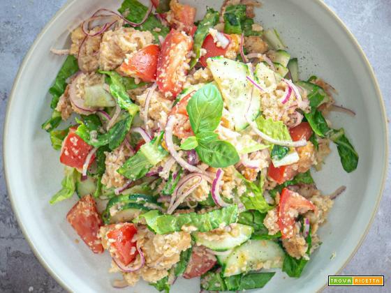 La panzanella - ricetta classica e zero waste