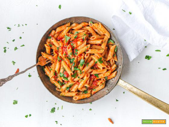 Penne all'arrabbiata - pasta naturalmente vegan
