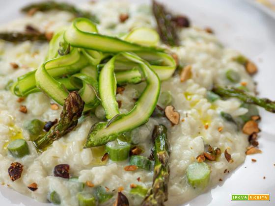 Risotto agli asparagi vegano