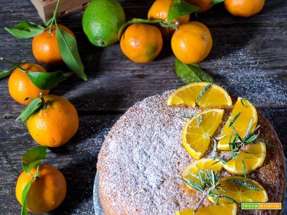 Torta agli agrumi – Ricetta facile e senza burro