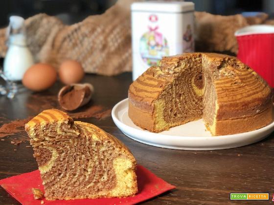 Torta ZEBRATA senza BURRO