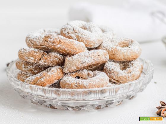Mostaccioli Umbri - Biscotti al vino rosso e anice