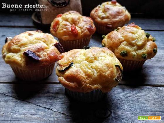 Muffin salati, antipasto goloso