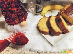 Plumcake alla banana: ricetta facile e gustosa