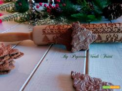 Biscotti decorati zenzero e cannella