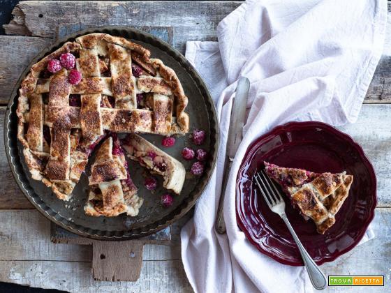 Torta di mele e lamponi {Apple and raspberry pie}