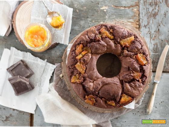 Ciambella al cioccolato e arance