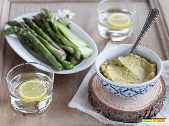 Hummus di asparagi